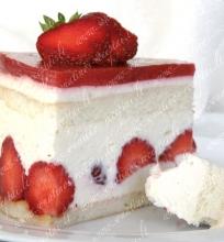 """Braškių tortas """"Fraisier"""""""