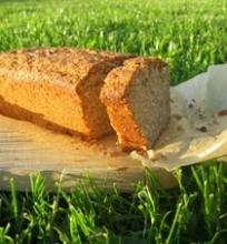 Levandų ir mėtų duonelė