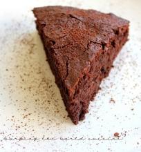 Velniškas šokoladinis pyragas