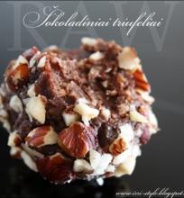 RAW – šokoladiniai triufeliai