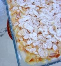 Jogurtinis desertas su abrikosais