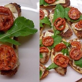 Karšti sumuštiniai su šoninės džemu ir Brie sūriu