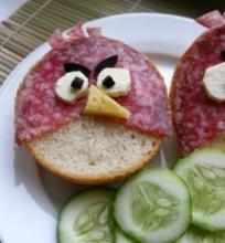 Sumuštiniai Angry Birds