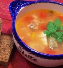 Šamo sriuba paprastai