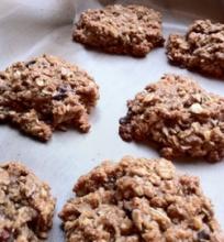 Veganiški avižiniai sausainiai