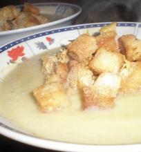 Keptų moliūgų sriuba