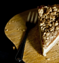Varškės pyragas su obuoliene