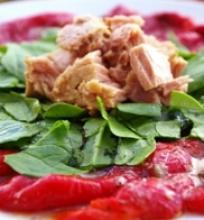 Paprikų salotos su tunu