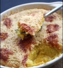 Moliūgo gratin'as su Parmezano sūriu