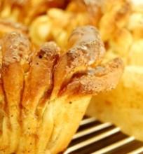Karamelinis obuolių pyragas