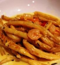 Pikantiškos šparaginės pupelės