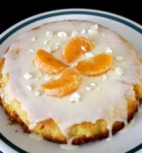 Mandarinų ir Migdolų Pyragas