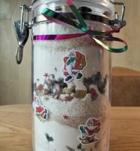 Greitas Kalėdinis vaisių pyragas (dovanų idėja)