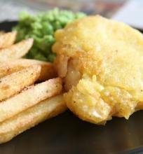 Žuvis su bulvytėmis