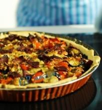 Pyragas su jautiena ir daržovėmis