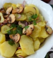Bulvių salotos su grybais