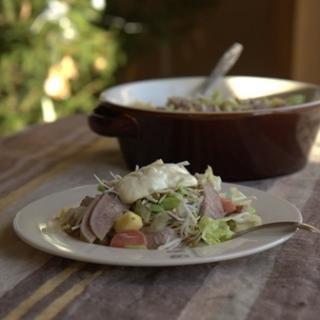 Jautienos liežuvio salotos