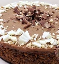 Ekologiškas šokolado tortas