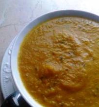 Trinta morkų sriuba su apelsinais