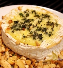 Keptas Camembert sūris