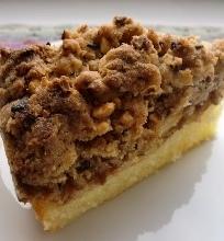 Trupininis obuolių pyragas su Rududu
