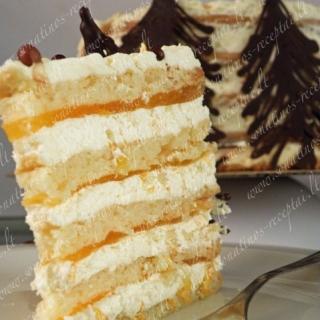 """Mandarinų tortas """"Marakešas"""""""