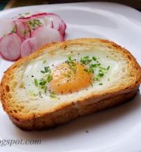 kiaušinis keptas