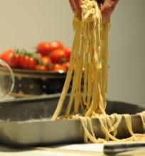 Pasta su pomidorais