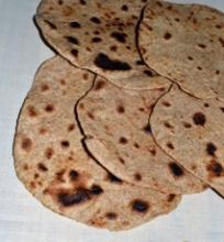 Čapati indiška duona