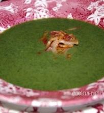 Dilgėlių-kiaulpienių sriuba