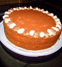 Mascarponės tortas su vyšniomis